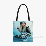 Zhavia Ward Custom Personalized Tote Bag Polyester with Small Medium Large Size