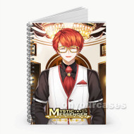 707 Mystic Messenger Custom Personalized Spiral Notebook Cover with Small Medium Large Size
