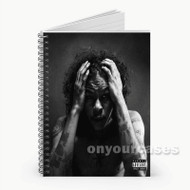 Ab Soul Threatening Nature Custom Personalized Spiral Notebook Cover with Small Medium Large Size