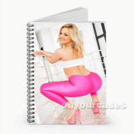 Alexis Texas Custom Personalized Spiral Notebook Cover with Small Medium Large Size