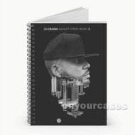 DJ Drama Intro Feat Lil Wayne Custom Personalized Spiral Notebook Cover with Small Medium Large Size