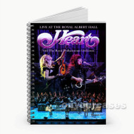 Heart Live At The Royal Albert Hall With The Royal Custom Personalized Spiral Notebook Cover with Small Medium Large Size
