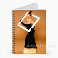 Nikki Benz Custom Personalized Spiral Notebook Cover with Small Medium Large Size