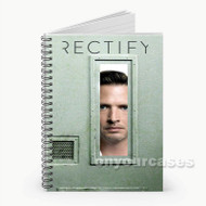 Rectify Custom Personalized Spiral Notebook Cover with Small Medium Large Size