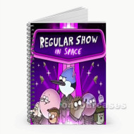 Regular Show Custom Personalized Spiral Notebook Cover with Small Medium Large Size