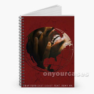 A AP Ferg East Coast ft Remy Ma Custom Personalized Spiral Notebook Cover with Small Medium Large Size