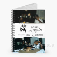 A AP Rocky and Tyler the Creator Custom Personalized Spiral Notebook Cover with Small Medium Large Size