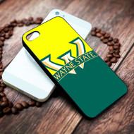 wayne state university on your case iphone 4 4s 5 5s 5c 6 6plus 7 case / cases