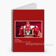 Honor DJ Cassidy Feat Grace Lil Yachty Custom Personalized Spiral Notebook Cover with Small Medium Large Size