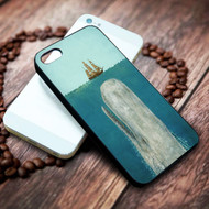 Whale Petrol Grey on your case iphone 4 4s 5 5s 5c 6 6plus 7 case / cases