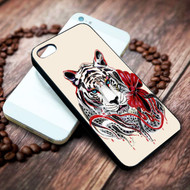 White Tiger on your case iphone 4 4s 5 5s 5c 6 6plus 7 case / cases