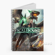 Scalebound Custom Personalized Spiral Notebook Cover with Small Medium Large Size
