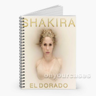 Shakira Trap Custom Personalized Spiral Notebook Cover with Small Medium Large Size
