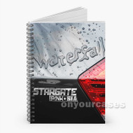 Stargate Waterfall ft P nk Sia Custom Personalized Spiral Notebook Cover with Small Medium Large Size