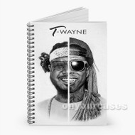T Pain Lil Wayne Heavy Chevy Custom Personalized Spiral Notebook Cover with Small Medium Large Size