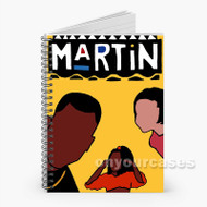 90s Vibe Hip Hop Martin TV Show Custom Personalized Spiral Notebook Cover