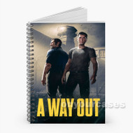 A Way Out Custom Personalized Spiral Notebook Cover
