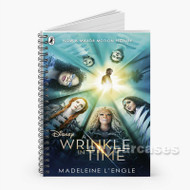 A Wrinkle in Time Custom Personalized Spiral Notebook Cover