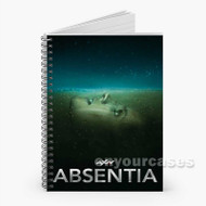 Absentia 2 Custom Personalized Spiral Notebook Cover