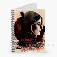 Absentia Custom Personalized Spiral Notebook Cover