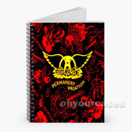 Aerosmith Flag Custom Personalized Spiral Notebook Cover