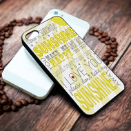 You Are My Sunshine on your case iphone 4 4s 5 5s 5c 6 6plus 7 case / cases