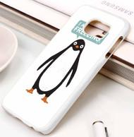 """Talking Penguin Samsung Galaxy S3 S4 S5 S6 S7 case / cases"