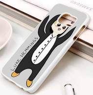 5 second summer look at all those penguins 2 Samsung Galaxy S3 S4 S5 S6 S7 case / cases