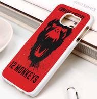 12 monkeys syfy Samsung Galaxy S3 S4 S5 S6 S7 case / cases