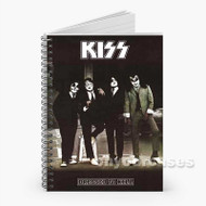 kiss Posters Custom Personalized Spiral Notebook Cover