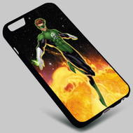 Green Lantern  on your case iphone 4 4s 5 5s 5c 6 6plus 7 Samsung Galaxy s3 s4 s5 s6 s7 HTC Case