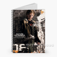 Newt The Maze Runner The Death Cure Custom Personalized Spiral Notebook Cover