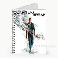 Quantum Break Custom Personalized Spiral Notebook Cover