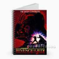 revenge of the jedi Custom Personalized Spiral Notebook Cover