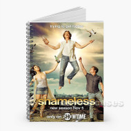 Shameless Custom Personalized Spiral Notebook Cover