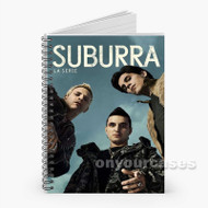 Suburra Custom Personalized Spiral Notebook Cover