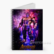 Thanos The Avengers Infinity War 2 Custom Personalized Spiral Notebook Cover