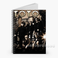 TOTO ROCK BAND Custom Personalized Spiral Notebook Cover