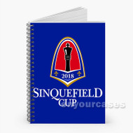 2018 Sinquefield Cup Custom Personalized Spiral Notebook Cover with Small Medium Large Size