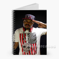 DJ Paul Custom Personalized Spiral Notebook Cover with Small Medium Large Size