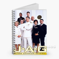 JAG Tv Show Custom Personalized Spiral Notebook Cover with Small Medium Large Size