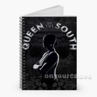 Queen of the South Custom Personalized Spiral Notebook Cover with Small Medium Large Size