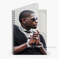 Ralo Rapper Custom Personalized Spiral Notebook Cover with Small Medium Large Size