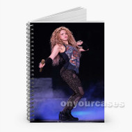 Shakira Custom Personalized Spiral Notebook Cover with Small Medium Large Size