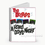 A Hard Day s Night Custom Personalized Spiral Notebook Cover