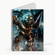 Big Daddy Bio Shock Custom Personalized Spiral Notebook Cover