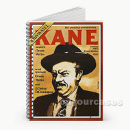 Citizen Kane Custom Personalized Spiral Notebook Cover