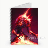Demon Dragon Age Custom Personalized Spiral Notebook Cover