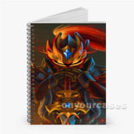 Dragon Knight Dota 2 Custom Personalized Spiral Notebook Cover