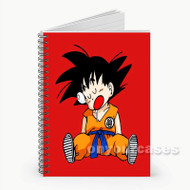 Goku Child Custom Personalized Spiral Notebook Cover